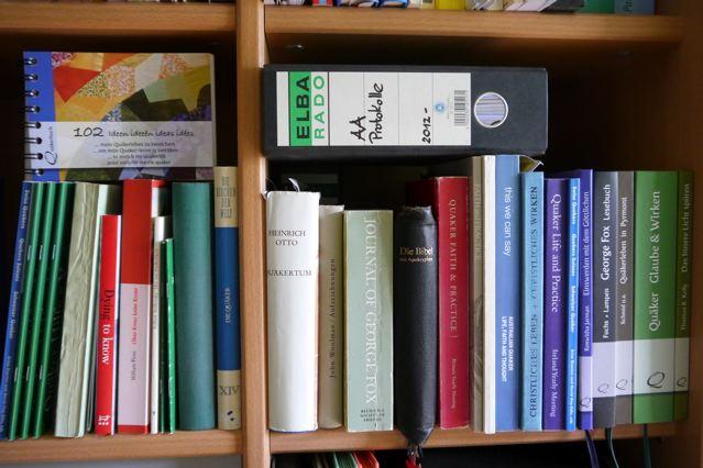 Kerstin Quaker Bookshelf