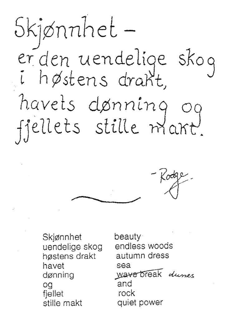 Skjonnhet - cover WP no 2