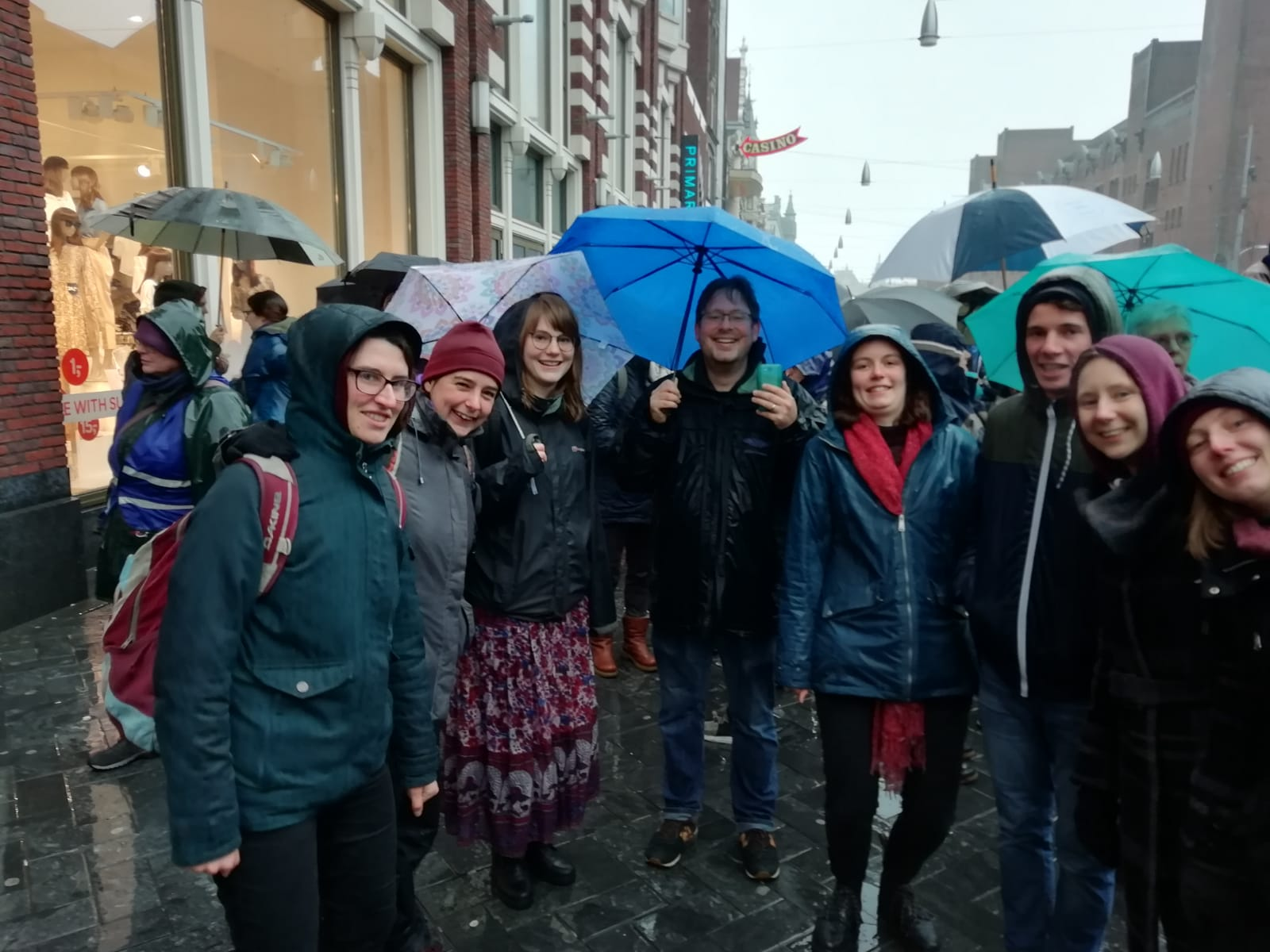 EMEYF at Amsterdam climate march